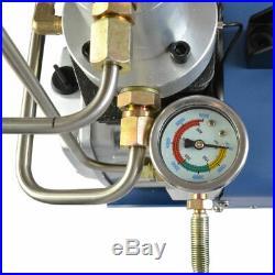110V 30MPA High Pressure Air Pump Electric PCP Air Compressor 4500PSI