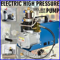 110V 30MPa Air Compressor Pump PCP Electric High Pressure System Good Item