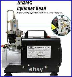 110V High Pressure Air Compressor Electric 4500psi Paintball PCP Refill Autostop