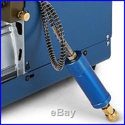 110V High Pressure Air Pump Electric pcp Compressor Airgun Scuba Rifle 30MPA