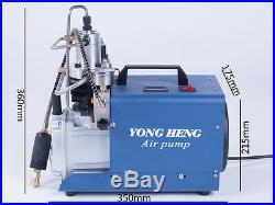 110V PCP Electric Air Pump High Pressure Paintball Air Compressor 300bar 4500psi