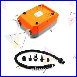 12V 20PSI Electric Air Pump High Pressure Speed Dual Stage For SUP Paddle Board