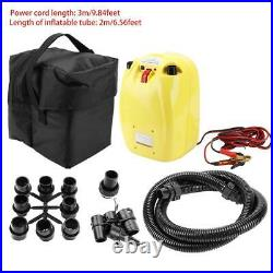 12V Portable Electric High Pressure Air Pump for Inflatable Canoe Boat Kayak