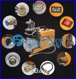 1800w High Pressure Electric Air Pump High Pressure Cylinder Head 30Mpa 220V