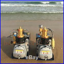 220V 300BAR 30MPA 4500PSI High Pressure Air Compressor PCP Airgun Scuba Air Pump