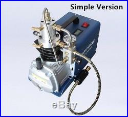 220V 300bar High Pressure Electric Compressor Air Pump Rifle PCP Airgun Inflator