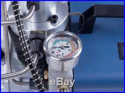 220V Adjustable Pressure 30Mpa 4500psi Air Pump High Pressure Air Compressor PCP