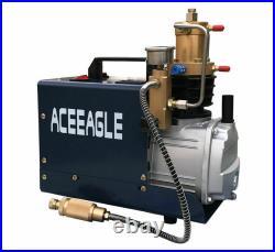 220V Portable High Pressure Electric Air Pump PCP Air Compressor Pump 40mpa