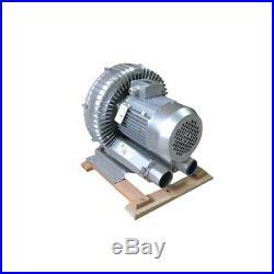 250W Industrial High Pressure Vortex Vacuum Pump 220V Dry Air Blower for Machine