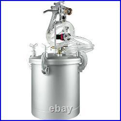 2.5 Gallon High Pressure Pot Paint Sprayer Commercial Automotive Industrial