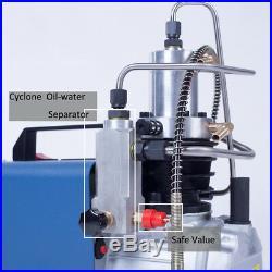 300BAR 30MPA 4500PSI High Pressure Air Compressor Air pump Scuba Rifle Airgun