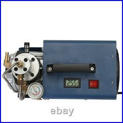 300BAR 30MPA 4500PSI High Pressure Electric Air Compressor Pump 220V 1.8