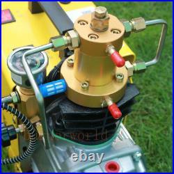 300BAR 4500PSI High Pressure Air Compressor PCP Air gun Inflation Scuba Air Pump