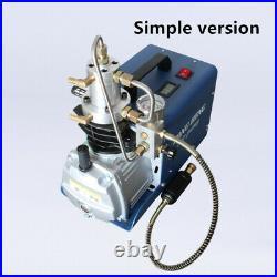 300Bar 4500Psi Air Compressor High Pressure Air Pump Airgun Scuba Rifle PCP