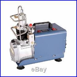 300Bar High Pressure Air Compressor Pump Auto Stop Paintball Airgun Rifle PCP