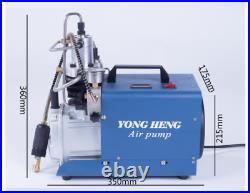 30MPA 4500PSI 110V High Pressure Air Pump Compressor PCP Airgun Scuba YONG HENG