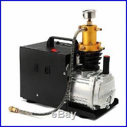 30MPA High Pressure Air Pump Electric PCP Air Compressor for Airgun Scuba RifleA