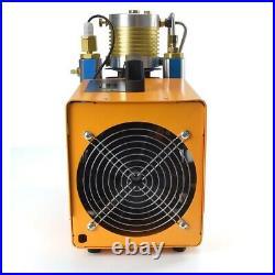 30MPA digital LCD screen High Pressure Air Compressor PCP Airgun Scuba Air Pump