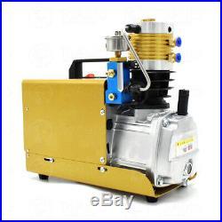 30MPa 1.8KW Auto Shutdown High Pressure Air Compressor Pump PCP Electric 4500PSI