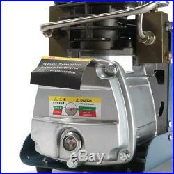 30MPa 4500PSI Air Compressor Pump PCP Airgun Electric High Pressure Auto Shut