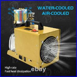 30MPa Air Compressor 110V Auto Shut down Pump PCP Electric 4500PSI High Pressure