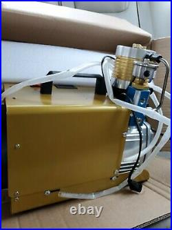 30MPa Air Compressor Pump 110V PCP Electric 4500PSI High Pressure 300Bar EU