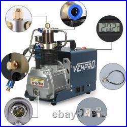 30MPa Air Compressor Pump 110V PCP Electric 4500PSI High Pressure System Air Gun