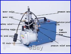 30MPa Air Compressor Pump PCP Electric 4500PSI High Pressure 110V Upgraded New