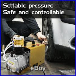 30MPa Auto Shut down High Pressure Air Compressor Pump PCP Electric 4500PSI 110V