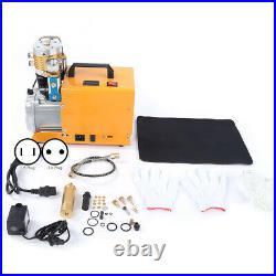 30MPa High Pressure 4500PSI Electric Air Compressors Air Pump Diving 110V/220V