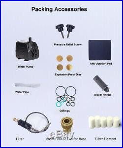 30MPa High Pressure PCP Air Compressor Pump Scuba Diving Inflator 220V 4500PSI