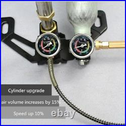 30Mpa 40MPA High Pressure PCP Hand Operated Air Pump Stainless Steel Air Gun