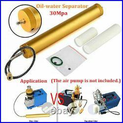 30Mpa 4500PSI PCP Compressor Oil Water Separator High Pressure Air Pump Filter