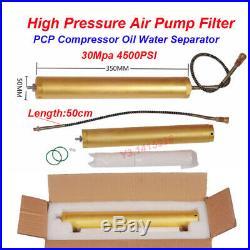 30Mpa 4500psi Oil-Water Separator Air Filter High Pressure PCP Compressor Pump