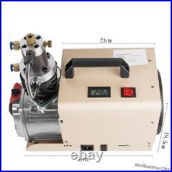 30Mpa High Pressure Air Pump Electric Compressor System 300Bar PCP Airgun Scuba