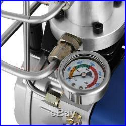 30Mpa High Pressure Electric Compressor Pump PCP Air Pump 220V AUTO Stop Diving