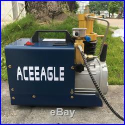30mpa High Pressure Air Compressor PCP Airgun Scuba Rifle Electrical 220V Pump
