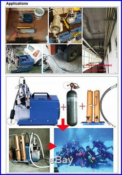 30mpa PCP Compressor Oil Water Separator 4500psi 300bar High Pressure Air Filter