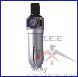 3/4 HIGH FLOW Air Pressure Regulator & Filter Water Trap Combo compressed air