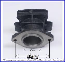 4500PSI Air Compressor High Pressure Pump PCP Cylinder Connect Rods Piston Parts