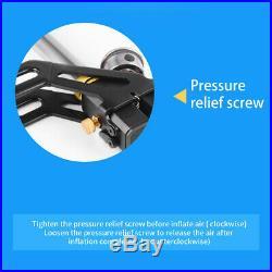 4500psi 3 Stage PCP Air Gun Hand Pump Rifle Filling Stirrup High Pressure Gauge