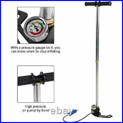 4500psi Air Hand Pump High Pressure for Smaco Scuba Diving Oxygen Cylinder Tank