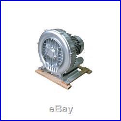 550W Industrial High Pressure Vortex Vacuum Pump Dry Air Blower Vacuum Cleaner