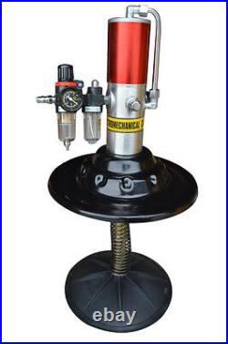 5 gallon Air Pneumatic Compressed Grease Pump Injector High Pressure Filler