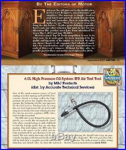 6.0L Powerstroke Specialist's BASIC tool kit Air test tool +Ball tube socket