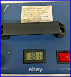 Adjustable Auto-Stop High Pressure Electric Air Compressor 30MPa 110V 1800W
