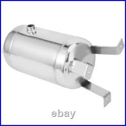 Air Reservoir Tank High Pressure Vertical 4 Port Stainless Steel Gas Storage