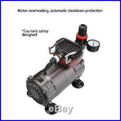 Airbrush Compressor Kit Spray Gun Hose Air Brush Paint 25L 1/5 HP High-Pressure