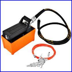 Auto Body shop Air Hydraulic Foot Pump 10000 PSI with High Pressure Spray Gun