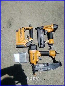 BOSTITCH BTFP3KIT 3-Tool Portable Air Compressor Combo Kit